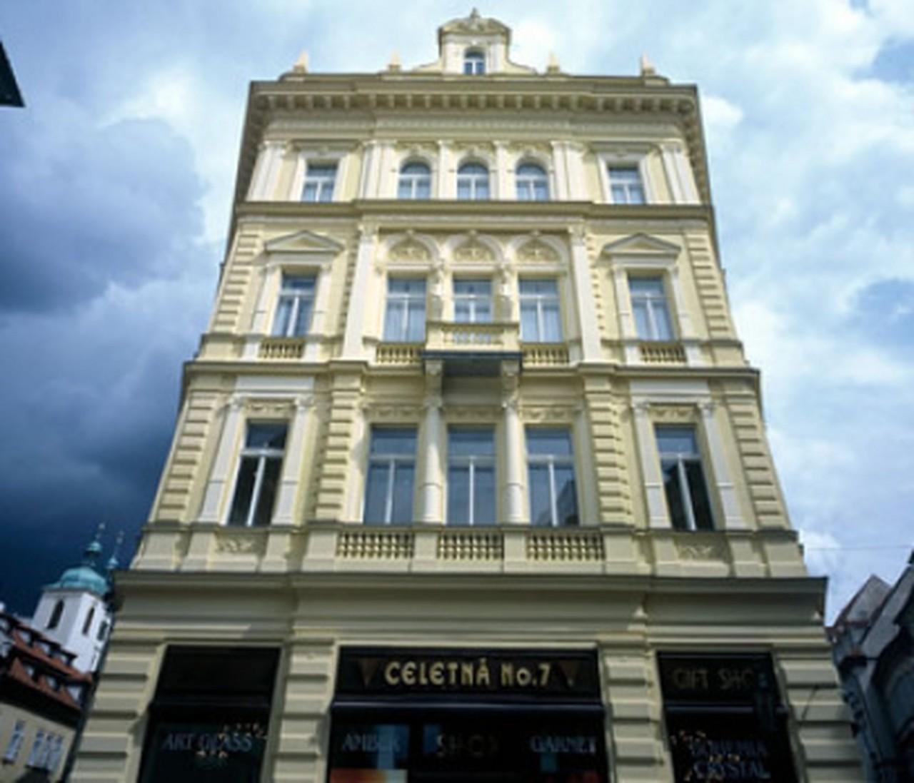 Grido architektura design for Ventana hotel prague